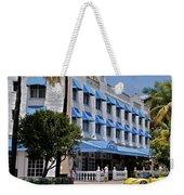 Beach Paradise Hotel Weekender Tote Bag