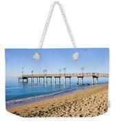 Beach Pier In Marbella Weekender Tote Bag