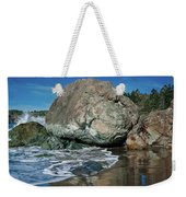 Beach Rock Weekender Tote Bag