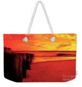 Beach Scene Weekender Tote Bag