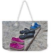Beach Shoes Weekender Tote Bag