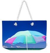 Beach Umbrella At The Shore Weekender Tote Bag