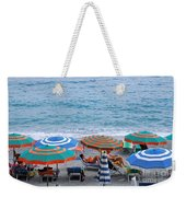 Beach Umbrellas 2 Weekender Tote Bag