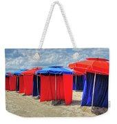 Beach Umbrellas Nice France Weekender Tote Bag