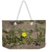Beach Wildflower Weekender Tote Bag
