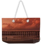 Beachcombing At Oceanside Pier Weekender Tote Bag