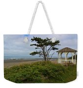 Beachside Gazebo Weekender Tote Bag