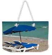 Beachtime Weekender Tote Bag by Barbara McMahon