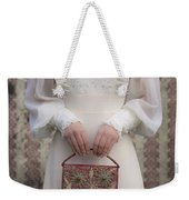 Beaded Handbag Weekender Tote Bag by Joana Kruse