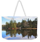 Bear Creek Lake Weekender Tote Bag