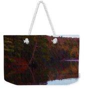 Bear Creek Lake In The Poconos Weekender Tote Bag