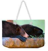 Bear Nap Weekender Tote Bag