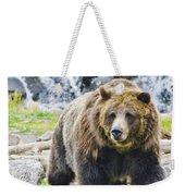 Bear On The Prowl. Weekender Tote Bag