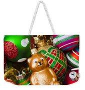 Bear Ornament Weekender Tote Bag