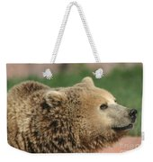 Bear Profile Weekender Tote Bag