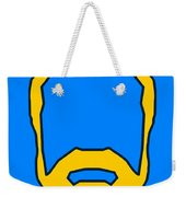 Beard Graphic  Weekender Tote Bag