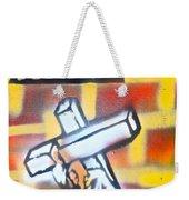 Bearing The Cross Weekender Tote Bag