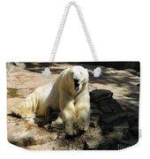 Bearly Staying Awake. Yaaaaawwwnn... Weekender Tote Bag
