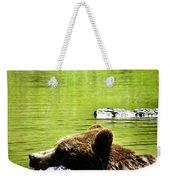Bearly Swim Weekender Tote Bag