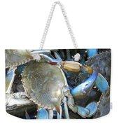 Beaufort Blue Crabs Weekender Tote Bag