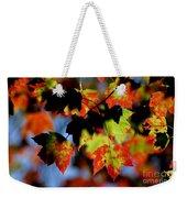 Beautiful Autumn Weekender Tote Bag