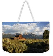 Beautiful Barn Grand Teton  Weekender Tote Bag