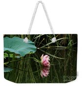 Beautiful Fallen Lotus Weekender Tote Bag
