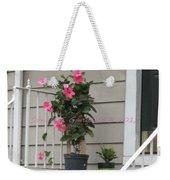 Beautiful Floral Entrance Weekender Tote Bag