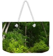 Beautiful Green Weekender Tote Bag