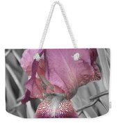 beautiful Iris Weekender Tote Bag
