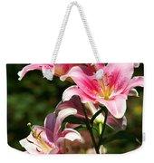 Beautiful Lilys Weekender Tote Bag