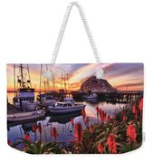 Beautiful Morro Bay Weekender Tote Bag