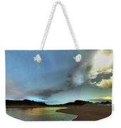 Beautiful Skies Shine Down On This Weekender Tote Bag