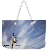 Beautiful Sky This Morning Weekender Tote Bag by Katie Cupcakes