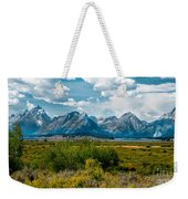 Beautiful Tetons Weekender Tote Bag