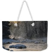 Beautiful View Of A Stream Finding Weekender Tote Bag