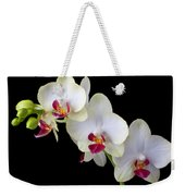 Beautiful White Orchids Weekender Tote Bag