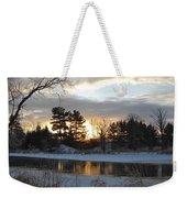 Beautiful Winter Dawn Weekender Tote Bag