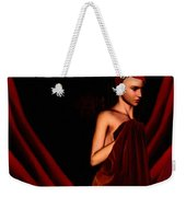 Beautifully Red Weekender Tote Bag
