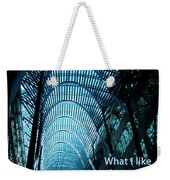Beauty And Ugly Weekender Tote Bag