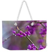 Beauty Berry Explosion Weekender Tote Bag