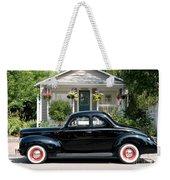 Beauty In Black Weekender Tote Bag