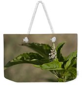Beauty Of A Wildflower Weekender Tote Bag by Deborah Benoit