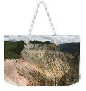 Beauty Of The Grand Canyon In Yellowstone Weekender Tote Bag