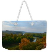 Beauty On The Bluffs Autumn Colors Weekender Tote Bag