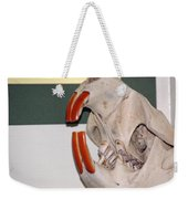 Beaver Teeth Weekender Tote Bag
