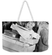 Becky, 1927 Weekender Tote Bag by Granger
