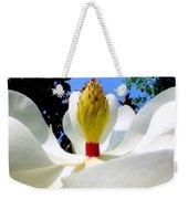 Bed Of Magnolia Weekender Tote Bag