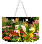 Bed Of Orchids Weekender Tote Bag