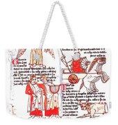 Bedes Constellations Weekender Tote Bag by Science Source